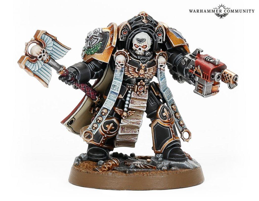 Chaplain Tarentus Warhammer Day exclusiv