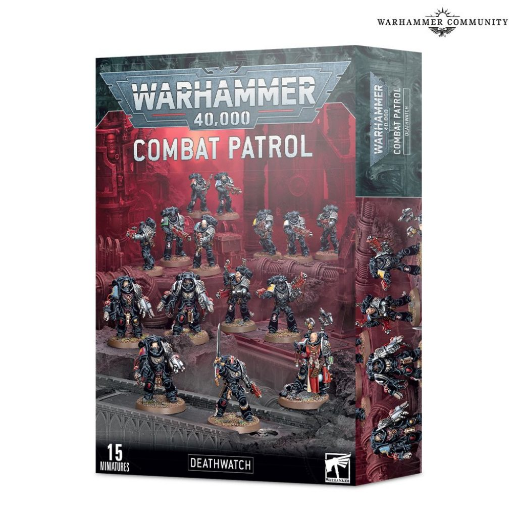 Combat Patrol Deathwatch box warhammer 40k