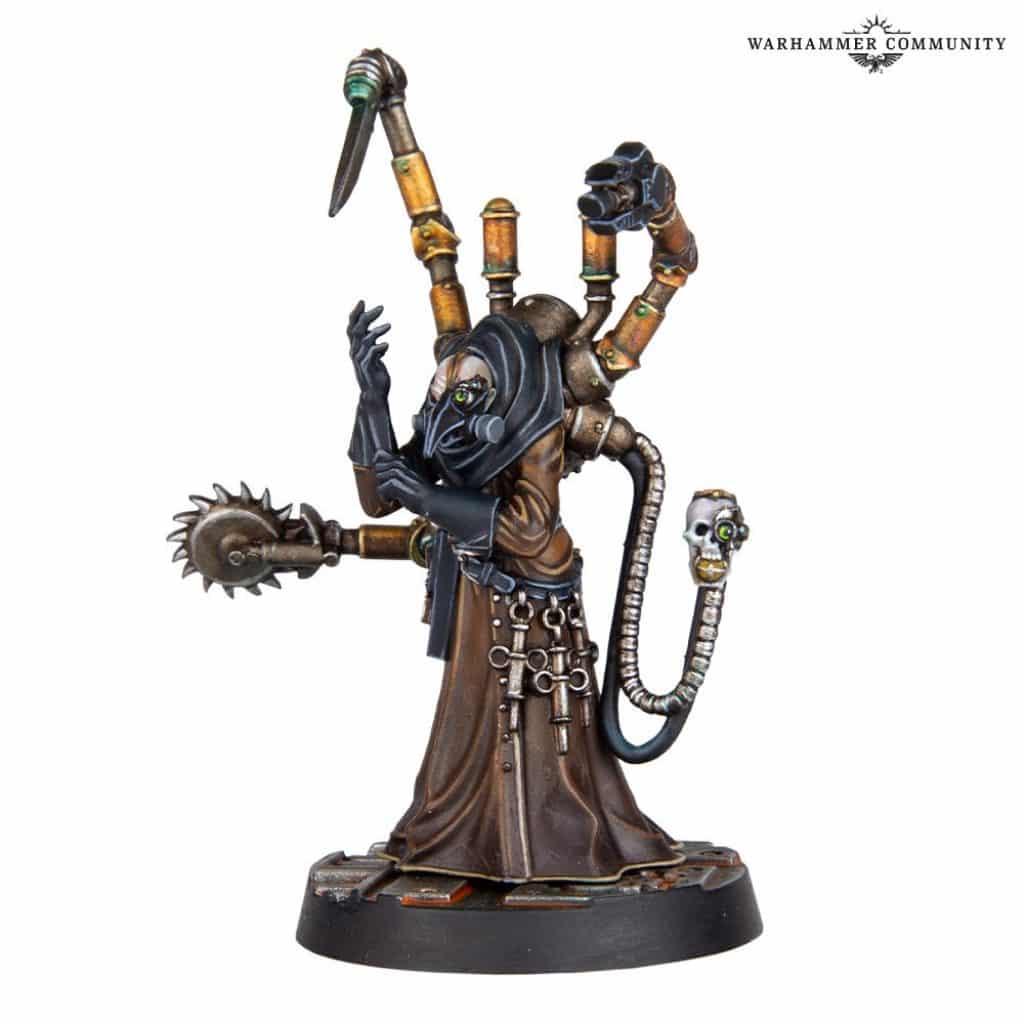 Doctor Arachnos Necromunda