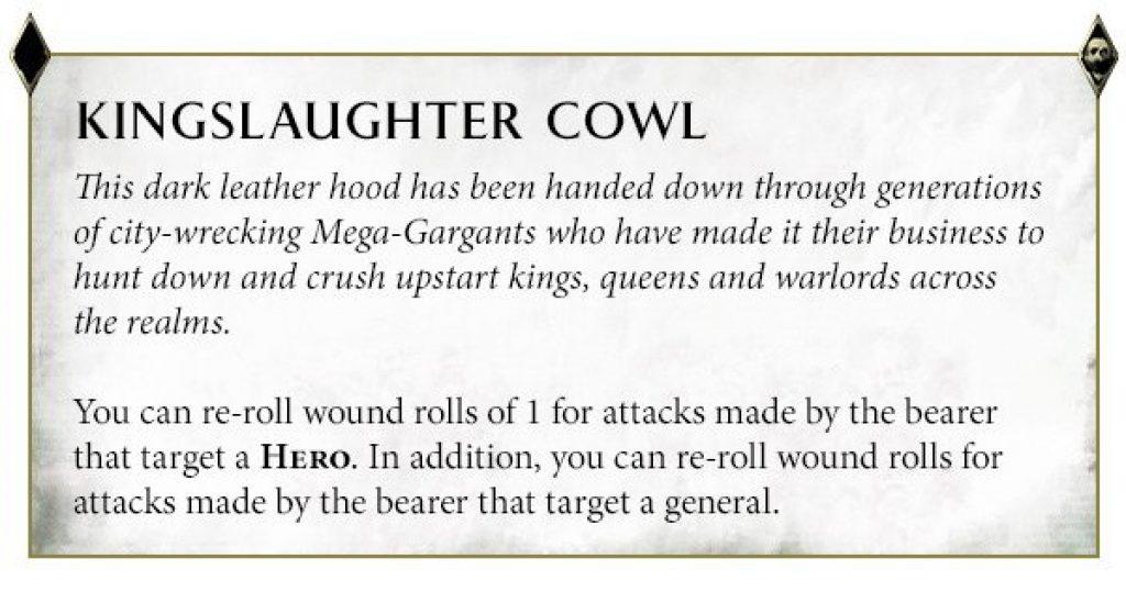 Gatebreaker Kingslaughter Cowl Rules