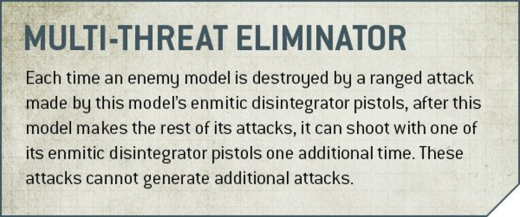multi-threat eliminator rules