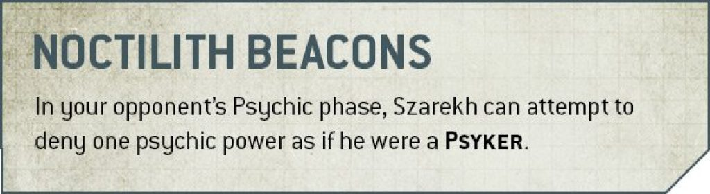 Noctilith Beacons rules