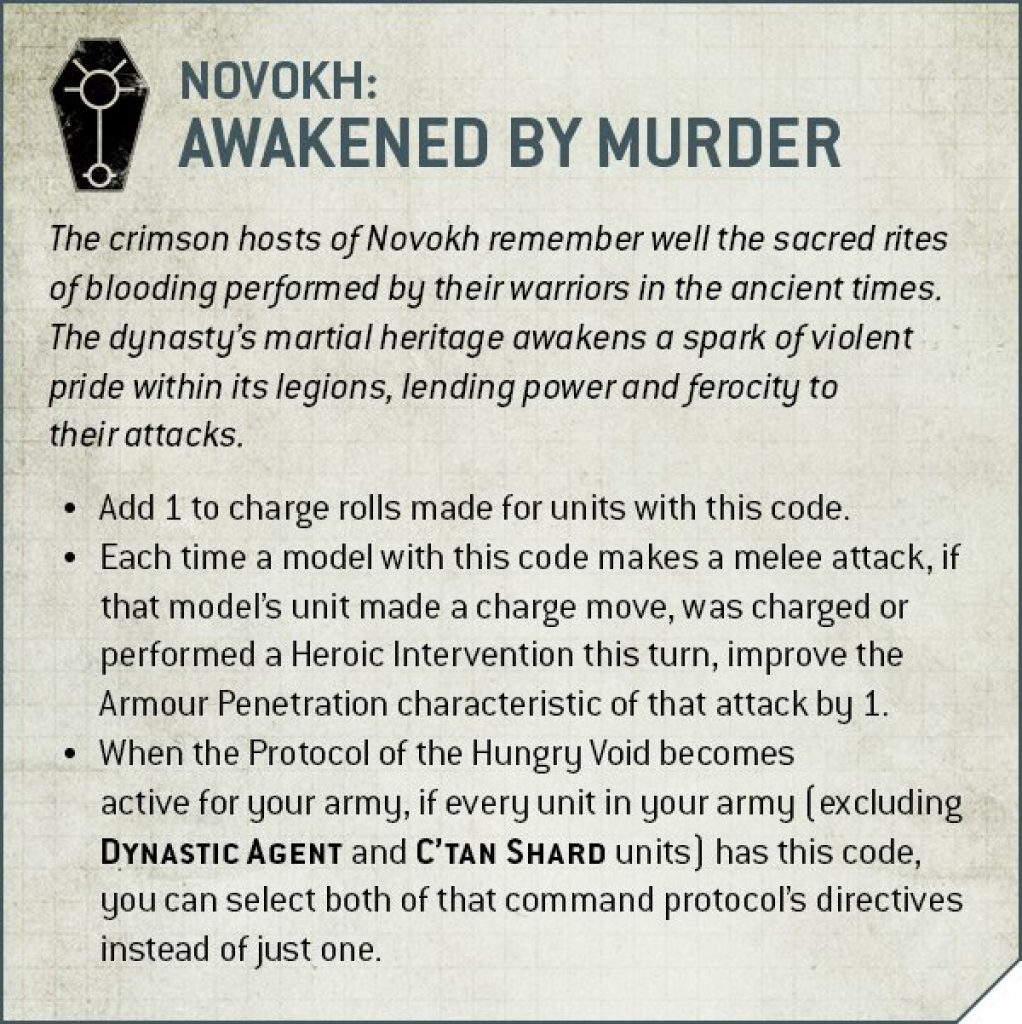 novokh dynasti awakened by murder