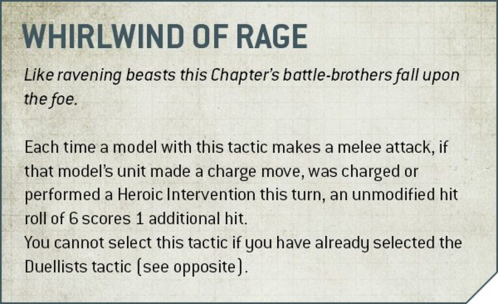 Whirlwind of Rage Rules