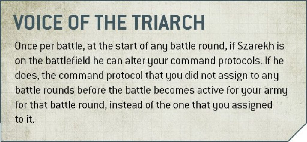 Voice of the Triarch rules