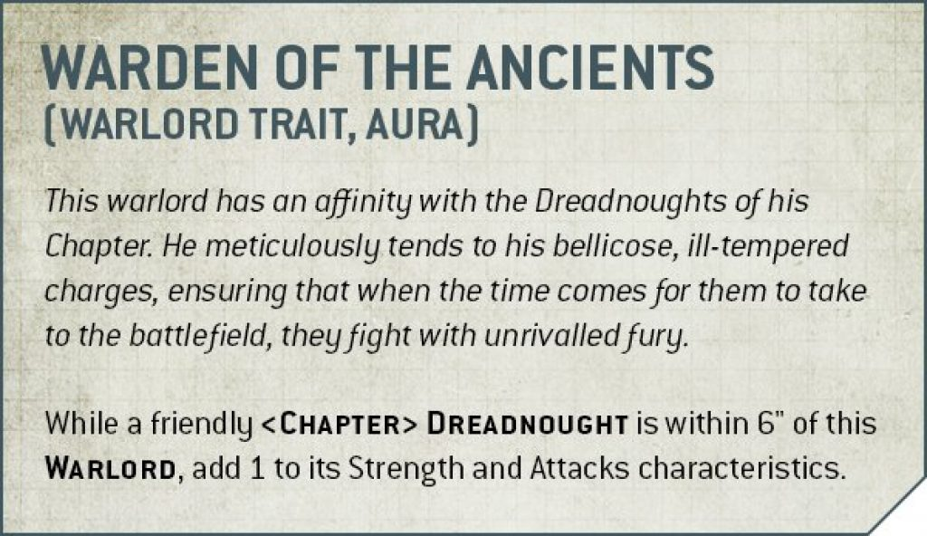 warden of the ancients rules