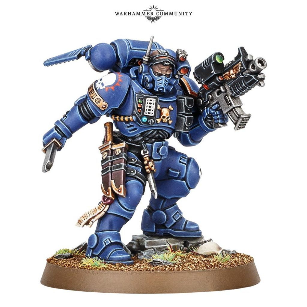 Lieutenant phobos start collecting Vanguard Space Marines