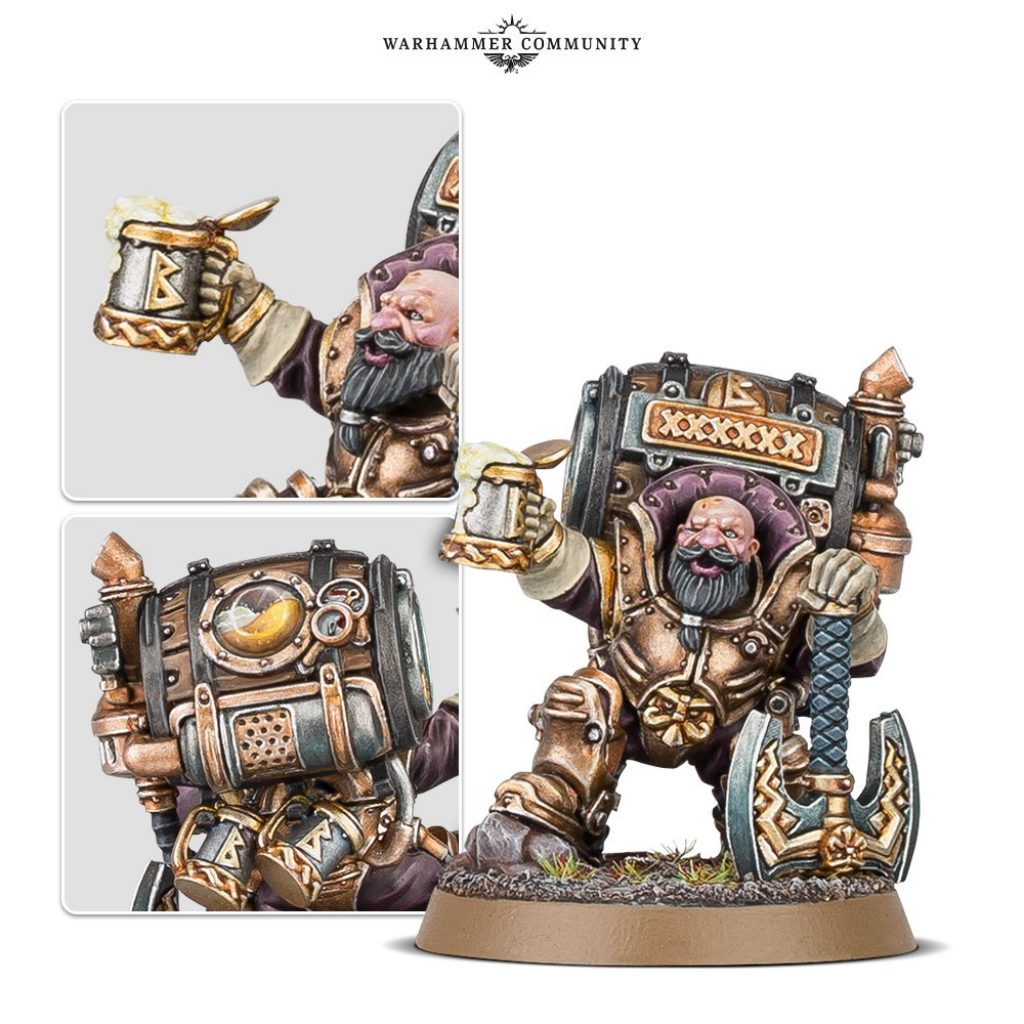Jakkob Bugmansson XI Kharadron Overlords