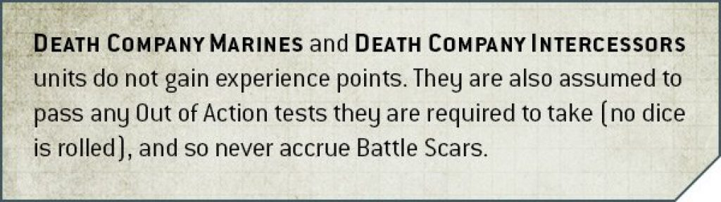 Codex Blood Angels V9Death Compagny rule