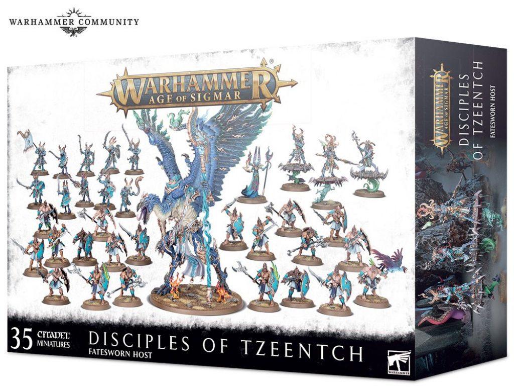 Disciples of Tzeentch Battleforge box