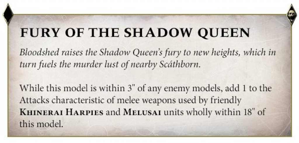 fury of the Shadow queen rules