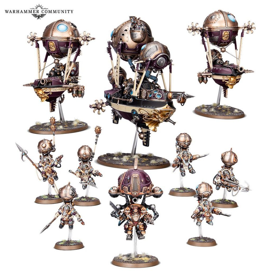 Kharadron Overlords Battleforge box content
