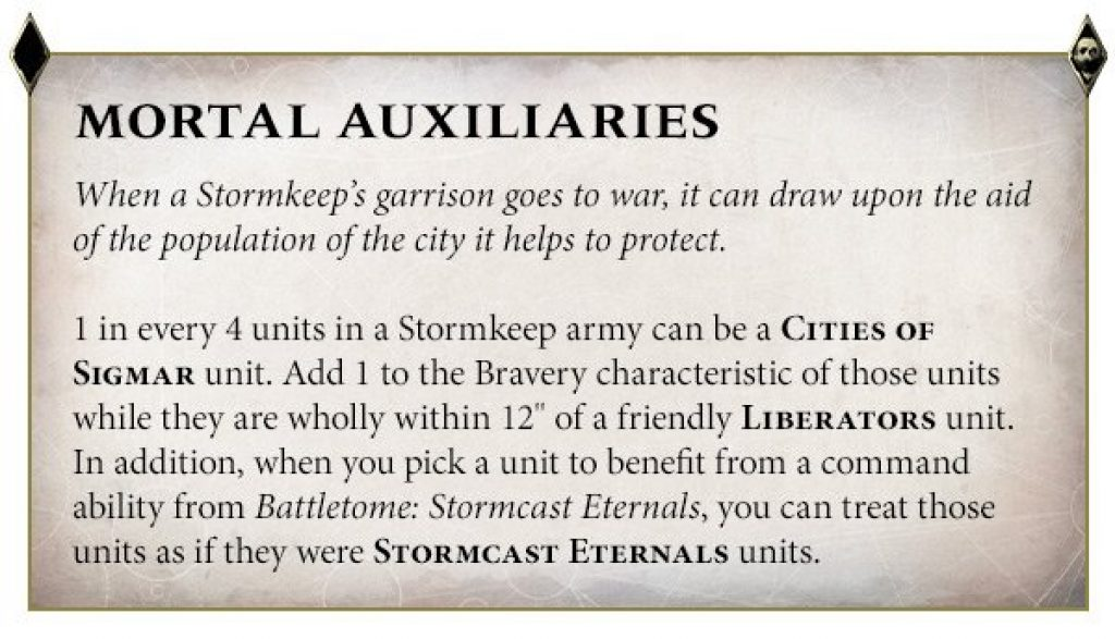 Mortal Auxiliaries rules