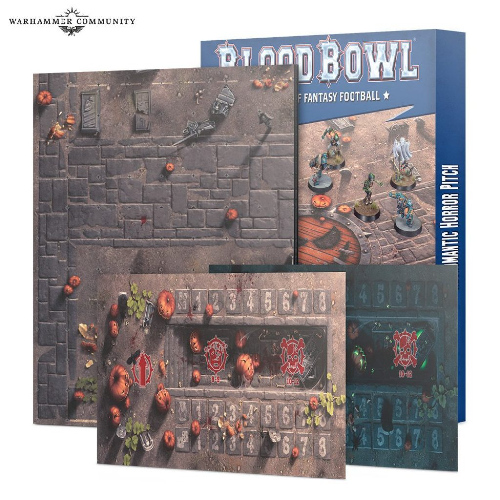 Pitch Undead Blood bowl