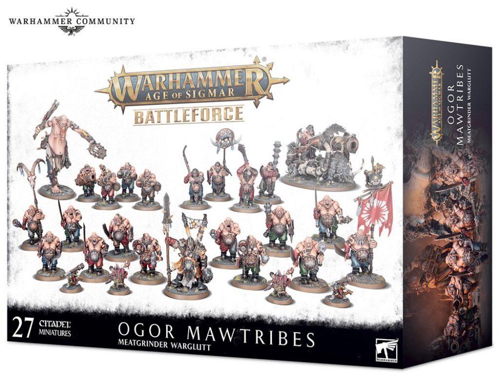 Ogor Mawtribes Battleforge box