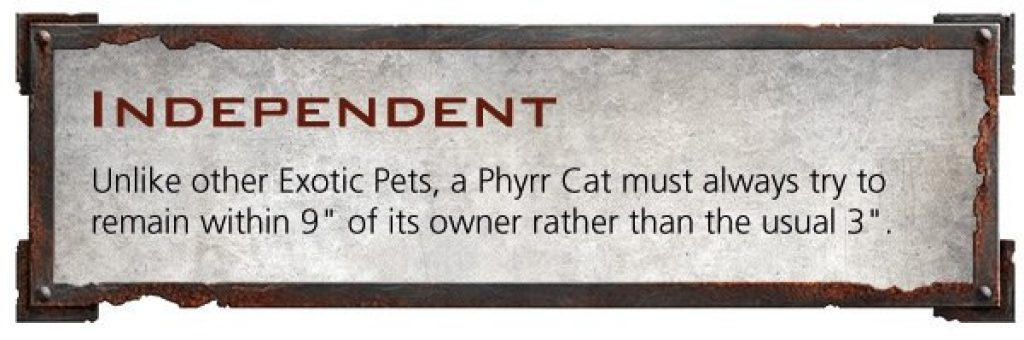 Independant Phyrr cat rule