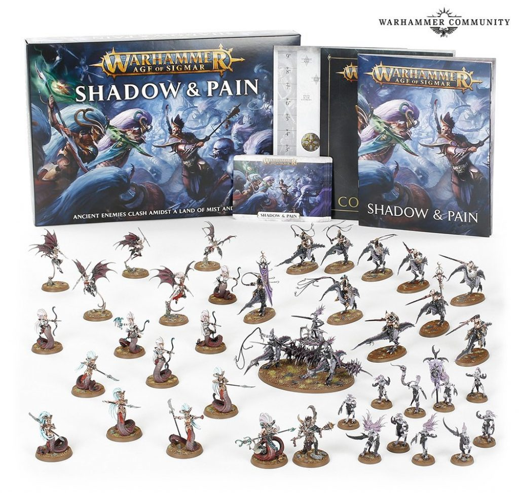 shadow & pain box content