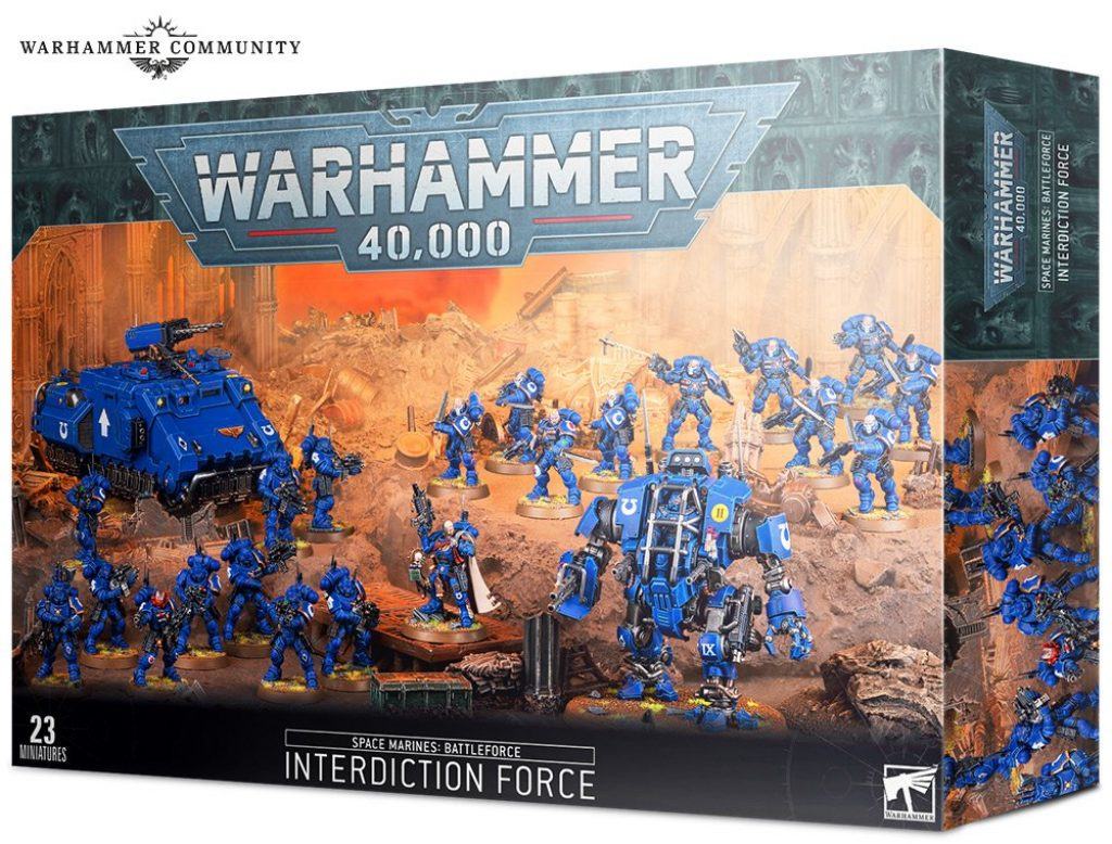 Battleforce : Space Marines Interdiction Force