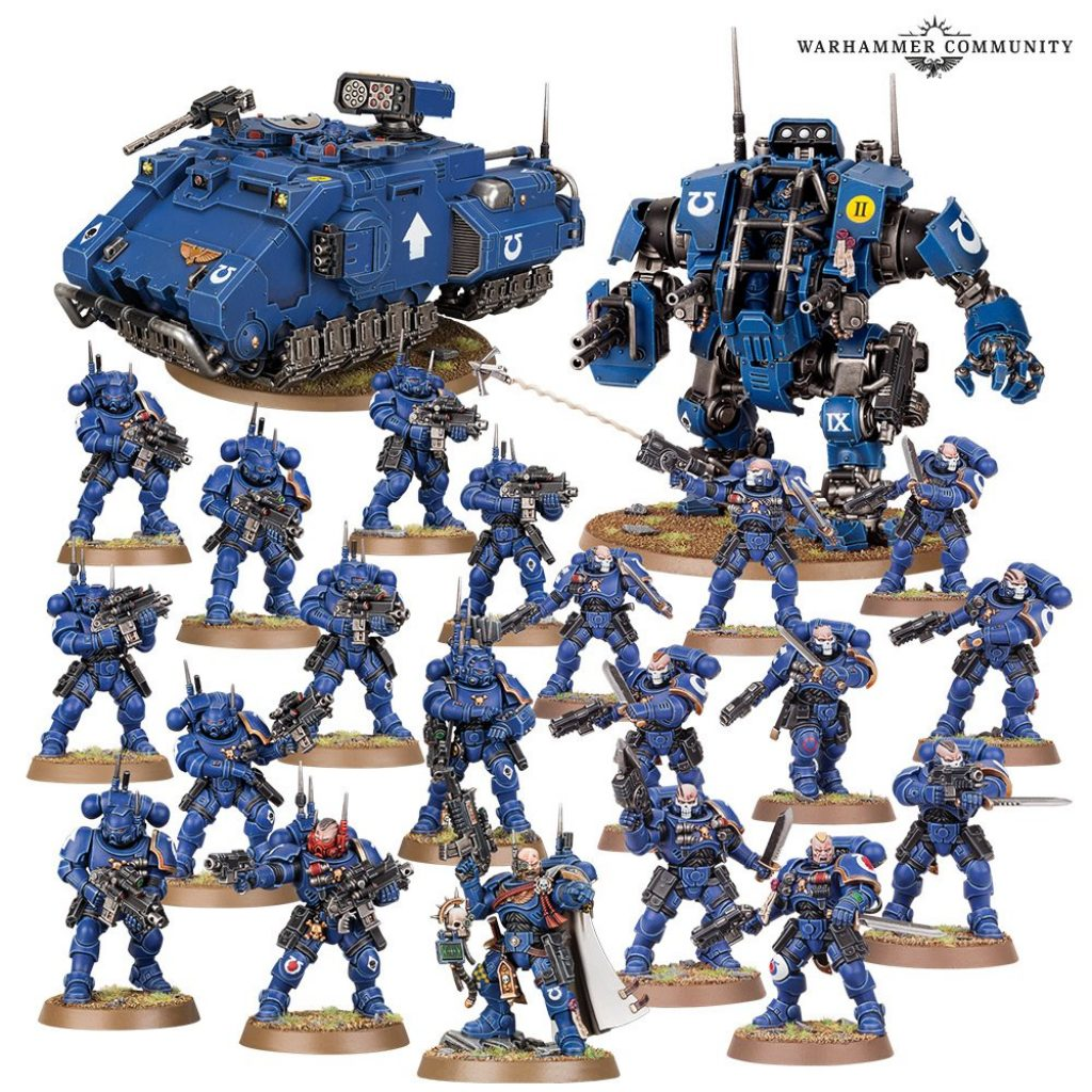 Battleforce : Space Marines Interdiction Force content