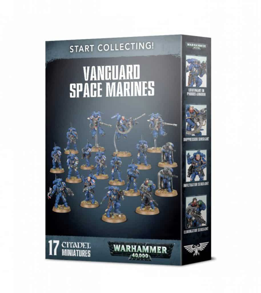box start collecting Vanguard Space Marines