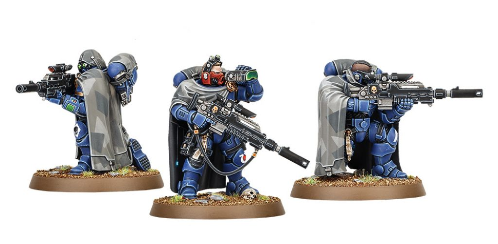 Eliminators start collecting Vanguard Space Marines