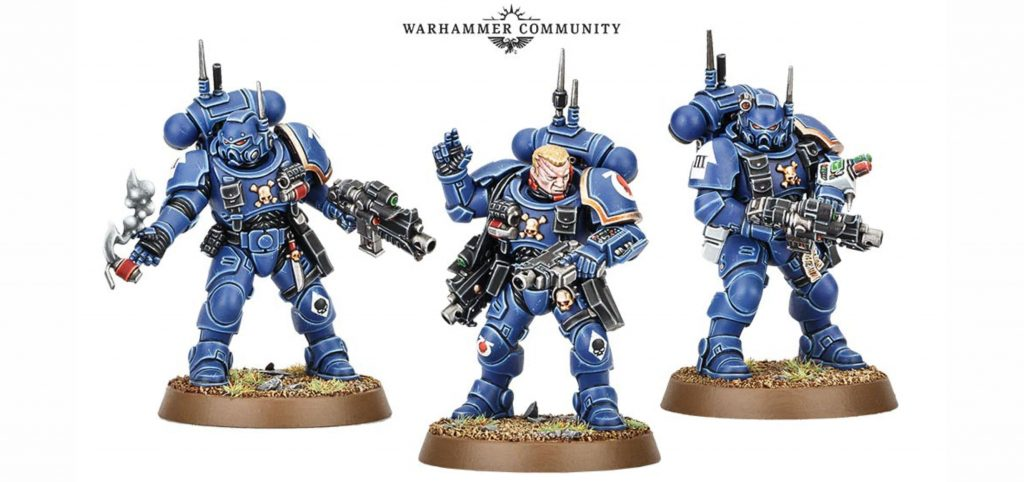 Infiltrators start collecting Vanguard Space Marines