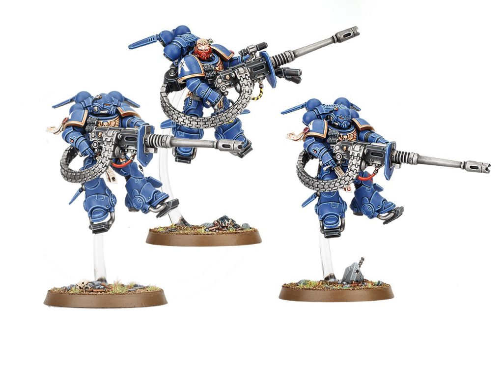 Supressors start collecting Vanguard Space Marines