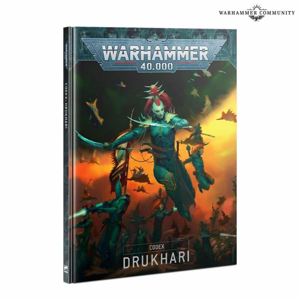 drukhari codex V9 warhammer 40k