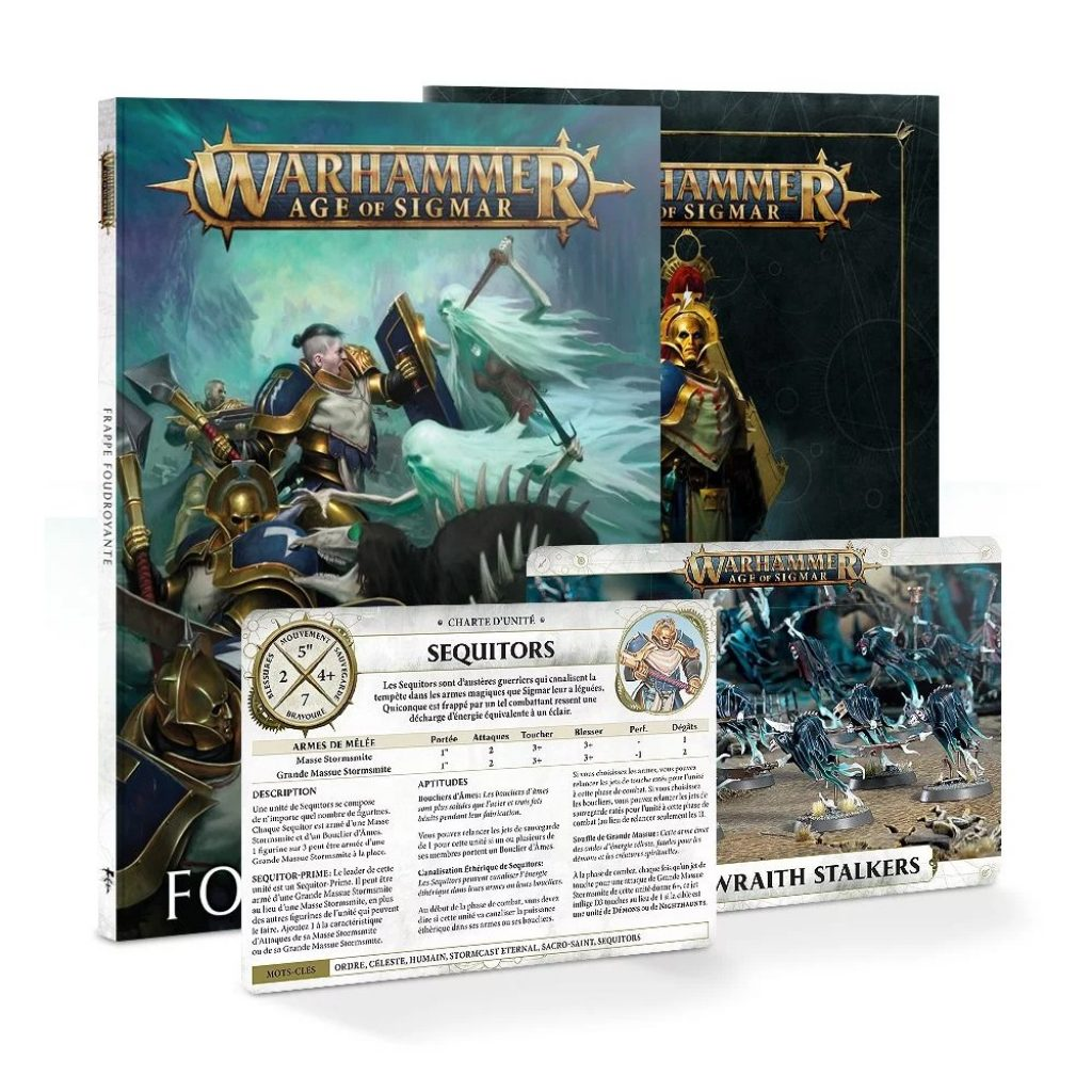 Storm Strike Age of Sigmar books and warscrolls