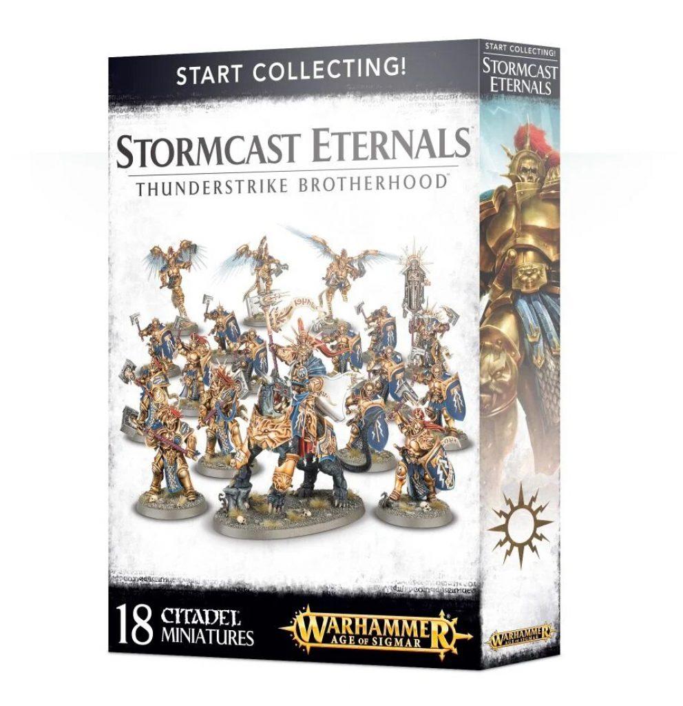 Start Collecting Stormcast Eternals Thunderstrike Brotherrhood box