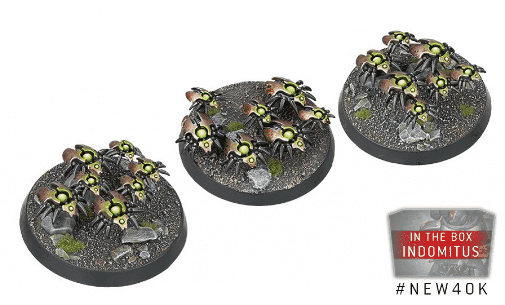 Warhammer V9 starting Set Command Edition scarabs