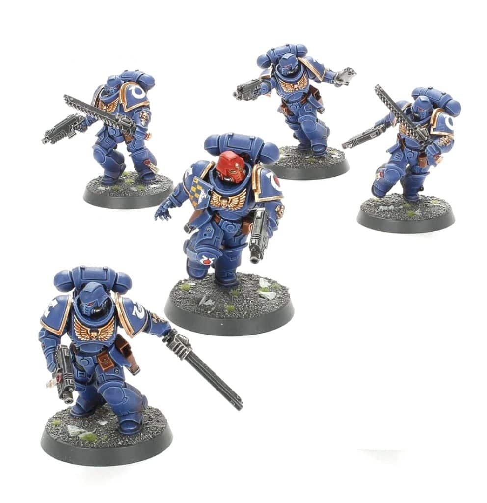 Assault Intercessors Primaris Starter Recruit Edition