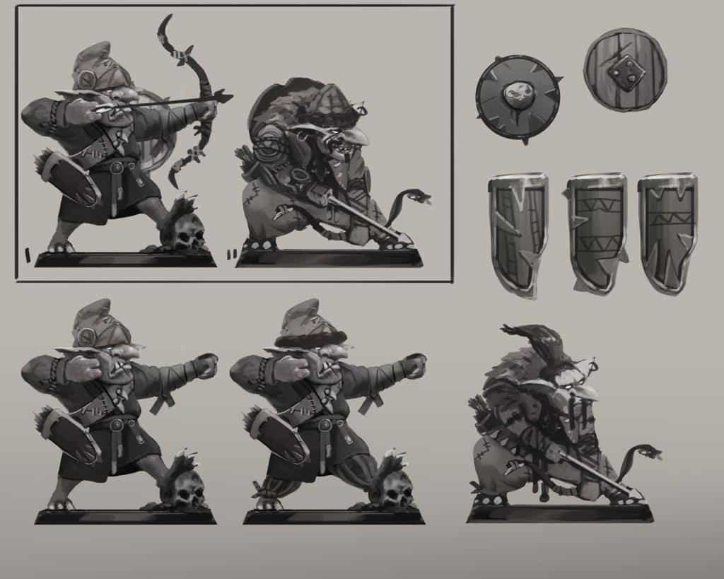 Concept of sharpshooter goblins russian alternative