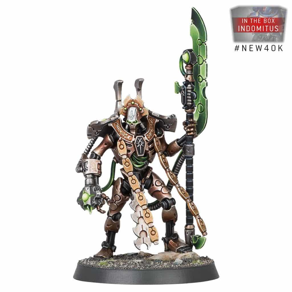 Warhammer V9 starting Set Command Edition Necron Overlord