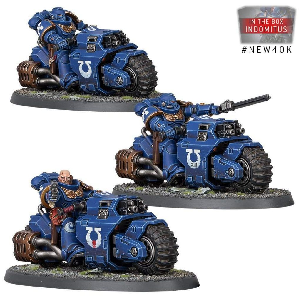Warhammer V9 starting Set Command Edition Outriders
