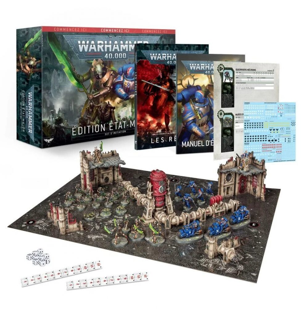 Warhammer 40.000 V9 strating box Command Edition box