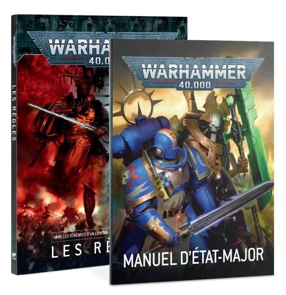 Warhammer V9 starting Set Command Edition rule book and command book