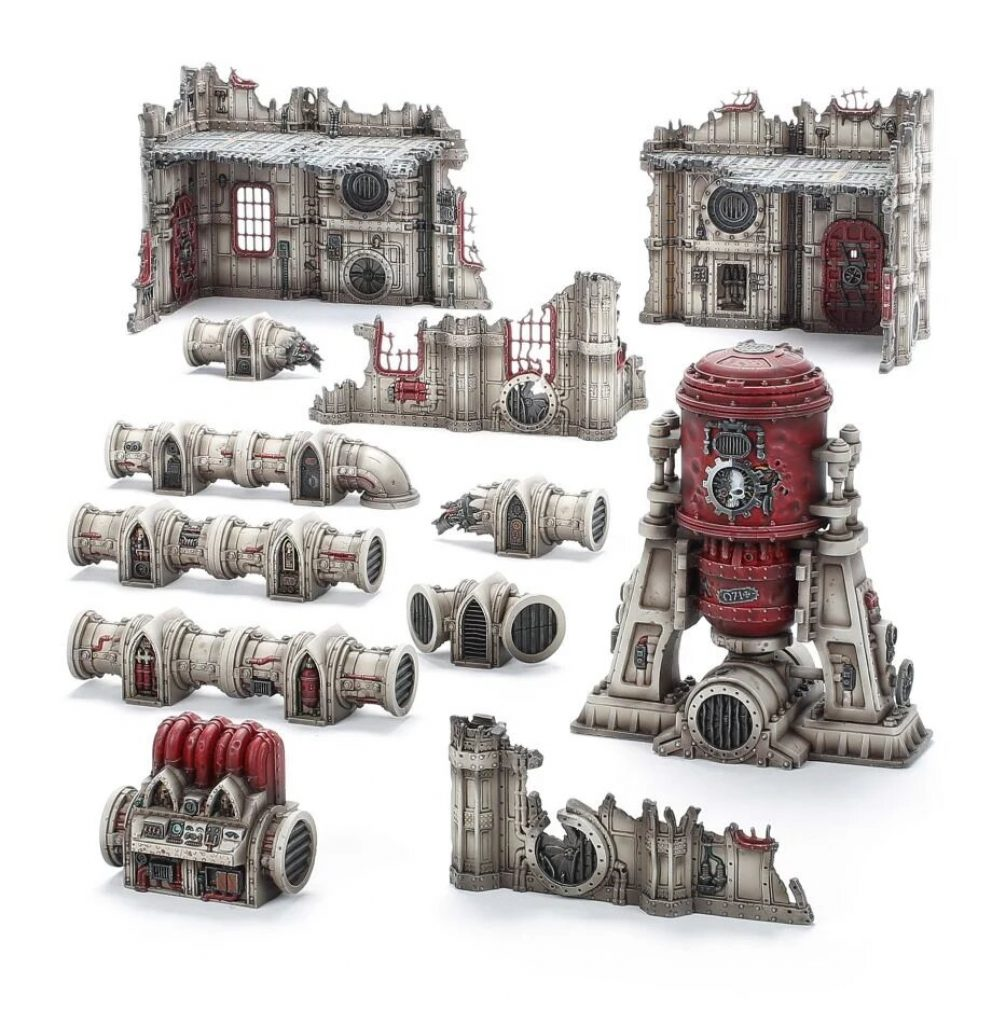 Vertigus terrain Warhammer V9 starting Set Command Edition