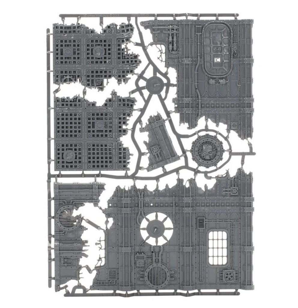 Vertigus terrain Warhammer V9 starting Set Command Edition sprue