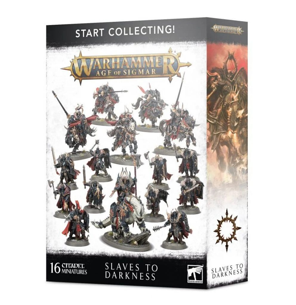 Age of Sigmar Start Collecting Slave to Darkness Box