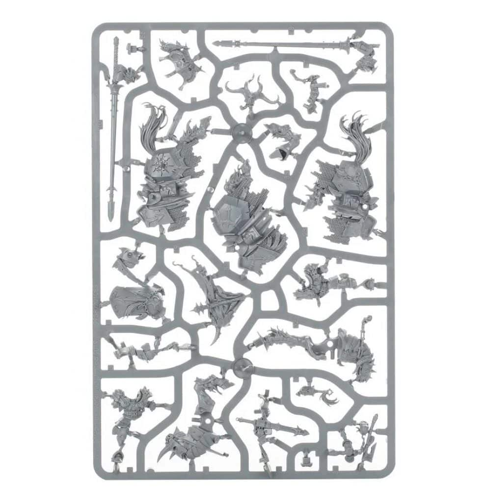 Age of Sigmar Start Collecting Slave to Darkness Chaos Knights sprue