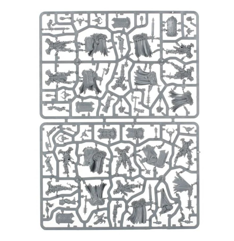 Age of Sigmar Start Collecting Slave to Darkness Chaos Warriors sprue