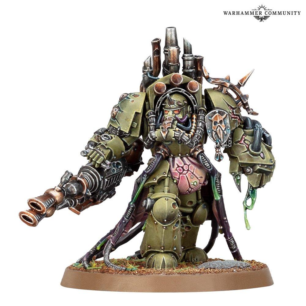 Warhammer 40k V9 Death Guard Lord of Virulence