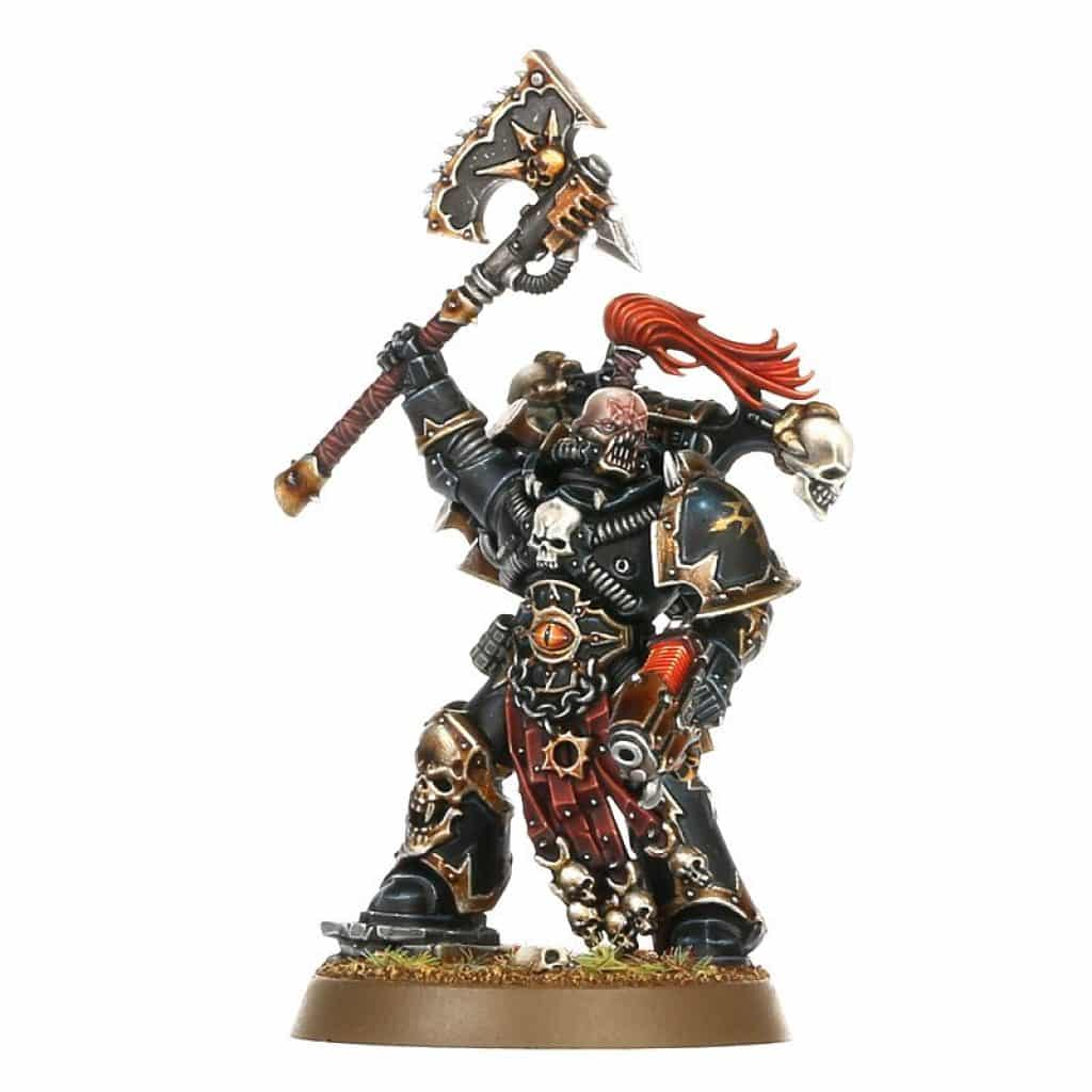 Start collecting chaos space marine sergent