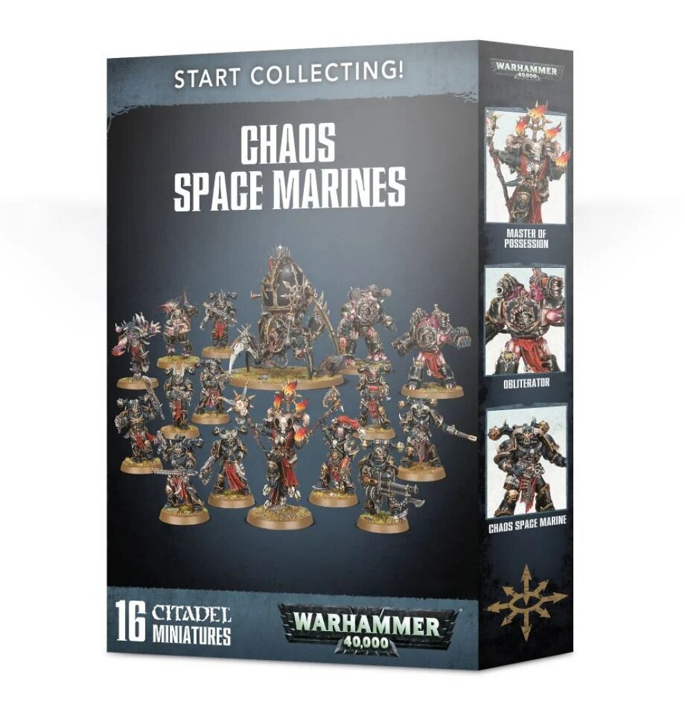 Start collecting chaos space marine box