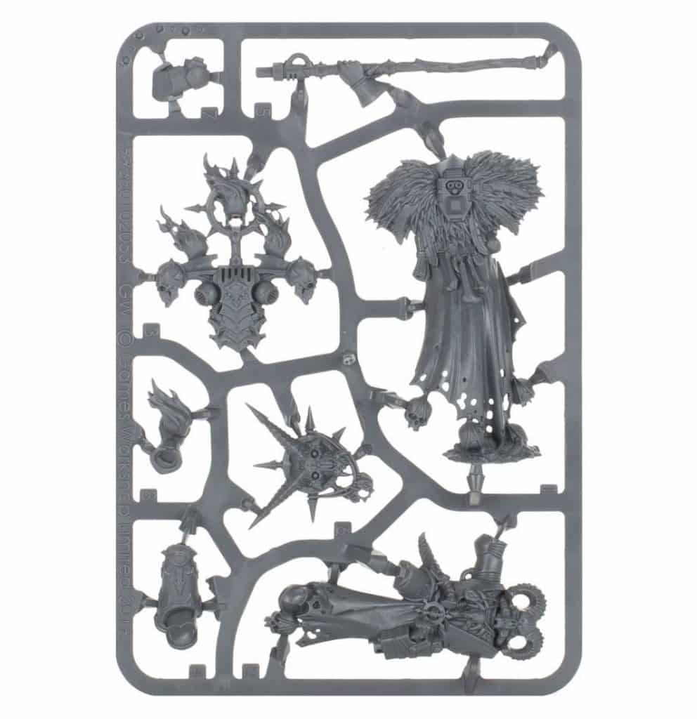 Start collecting chaos space marine Master of possession sprue