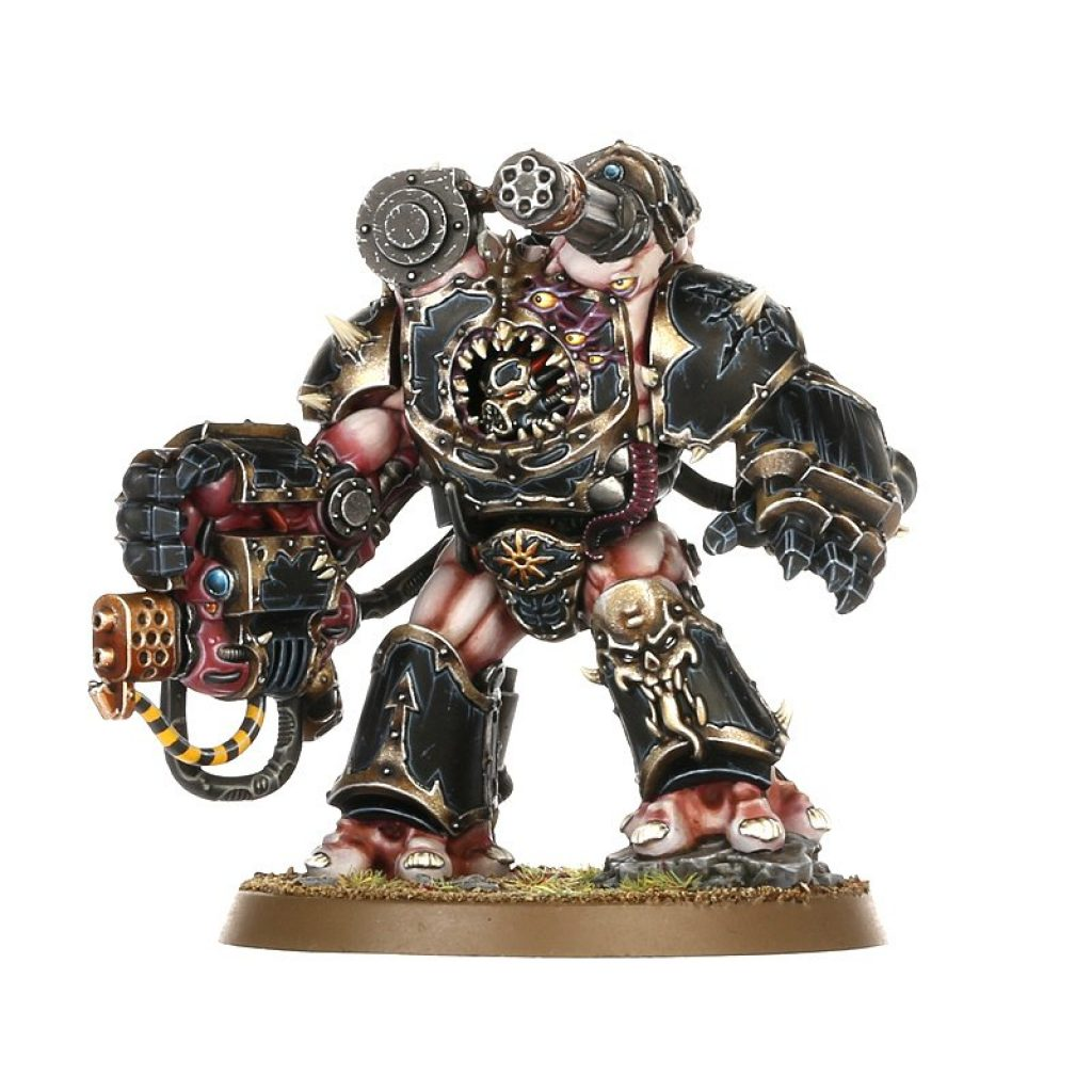 Start collecting chaos space marine obliterator