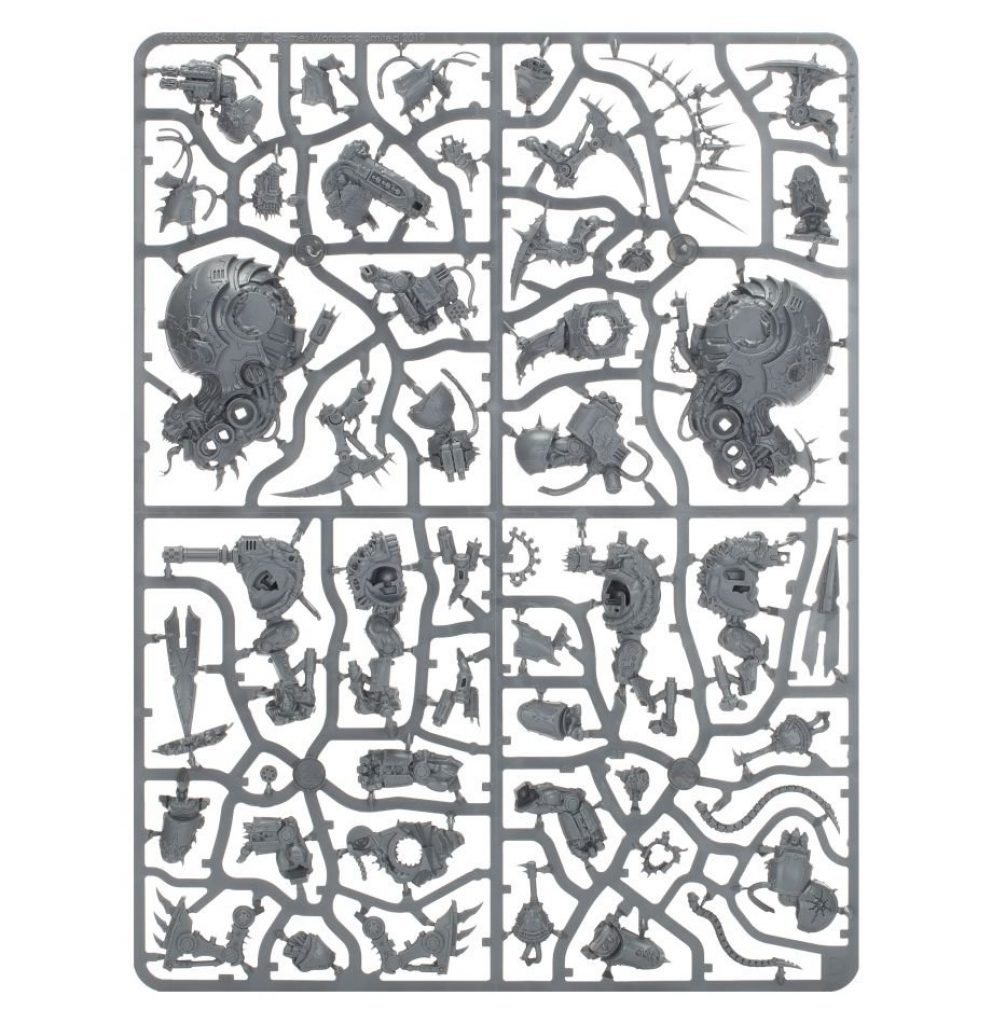Start collecting chaos space marine sprue