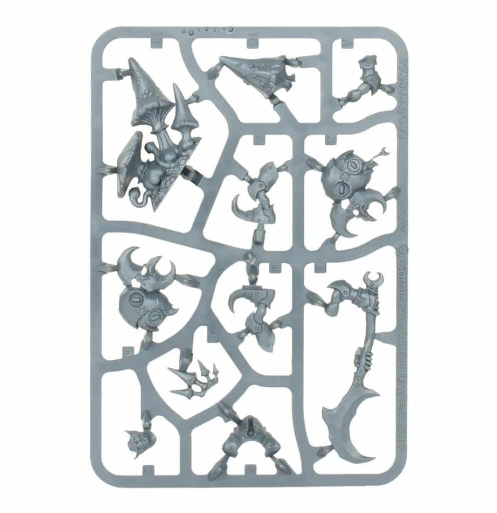 AoS Start Collecting Gloomspite Gitz Loonboss sprue