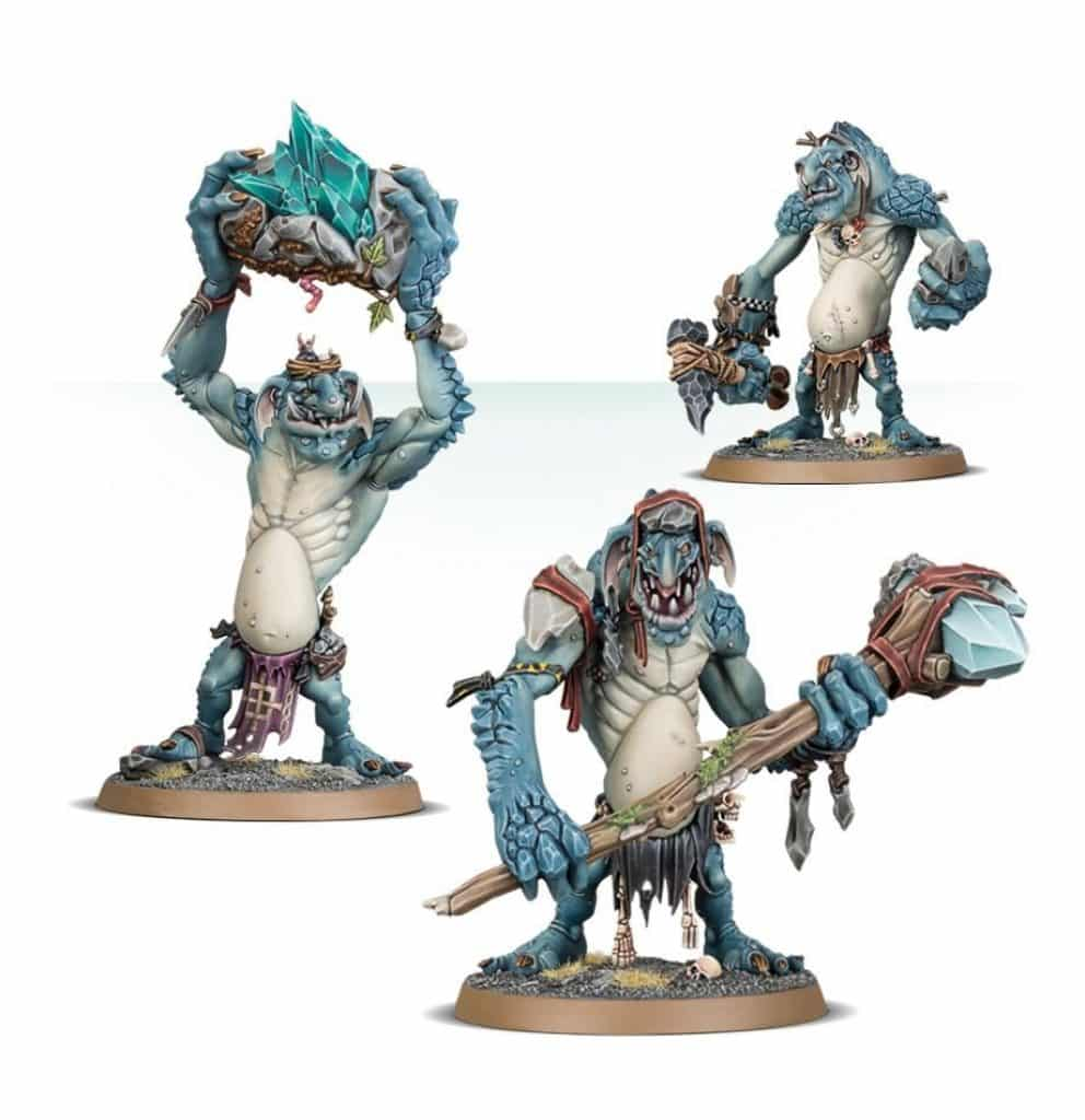 AoS Start Collecting Gloomspite Gitz Troggoths Rockgut